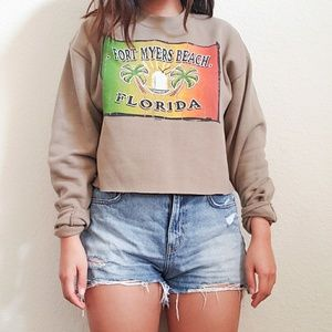 Cropped LEE Brand sweater